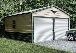 metal garage carports