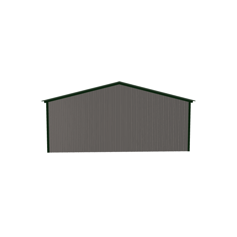 20x20x7 Vertical Roof Metal Carport