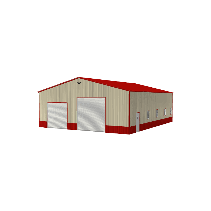 40x50x14 Vertical Roof Commercial Building