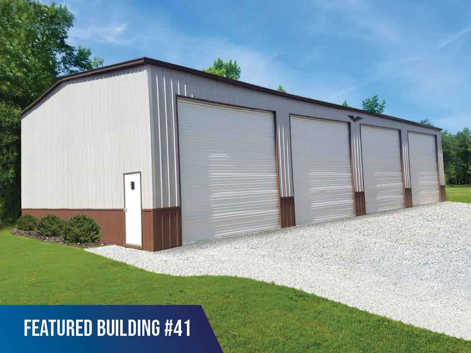 40x70x16 Vertical Roof Commercial Building