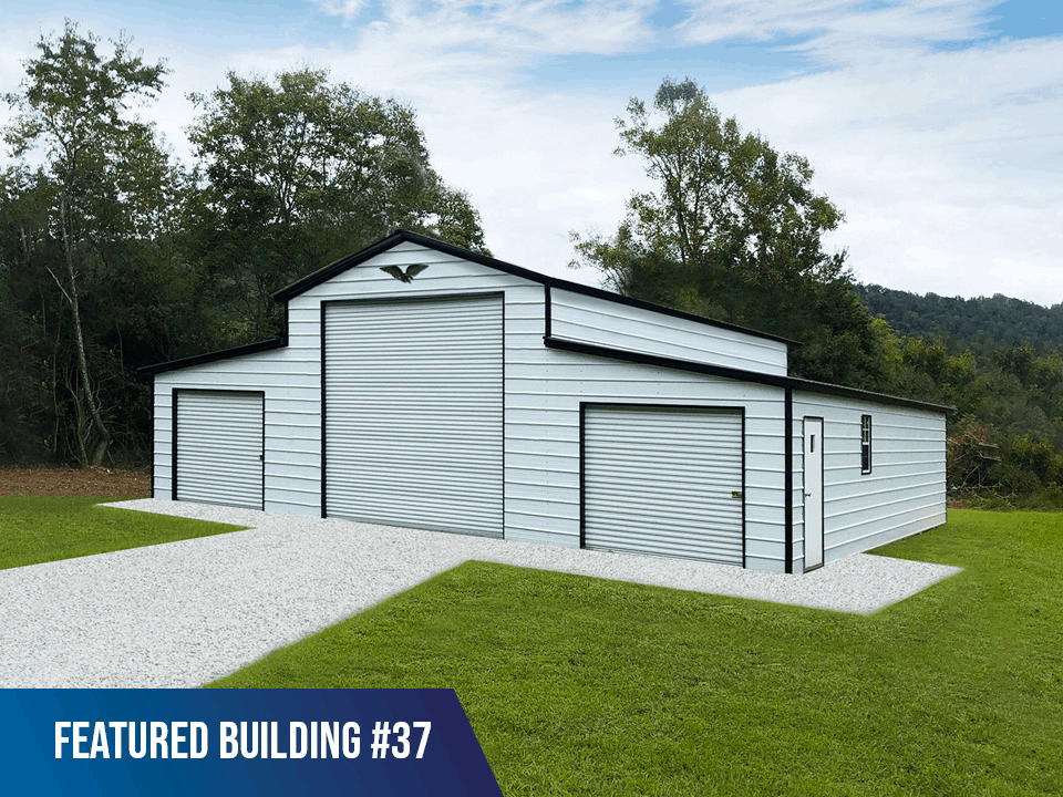 42x40x13/9 Vertical Roof Horse Barn